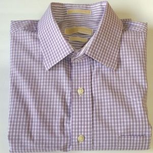 Michael - Michael Kors Gingham pattern Dress Shirt